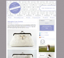 Wedding Co Blog - cute clutches ANGEE W.