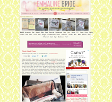 Emmaline Bride - ANGEE W. Photo lined Clutch Bags