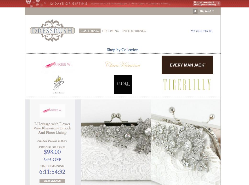 201112_DressRush Sale