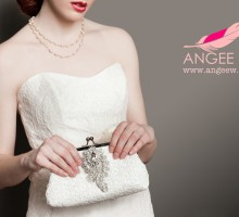 ANGEE W. Bridal Clutch Bag