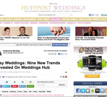 Huffpost Wedding - May 3, 2012