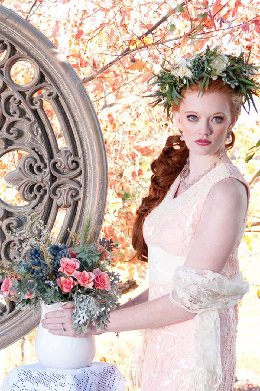 Bohemian Chic Wedding   Photo by Samantha Randall   ANGEE W.