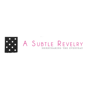 A Subtle Revelry logo | ANGEE W. featured