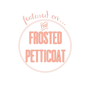 The Frosted Petticoat logo | ANGEE W. featured