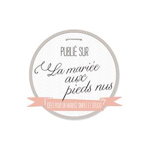 La Mariee aux Pieds Nus logo | ANGEE W. featured