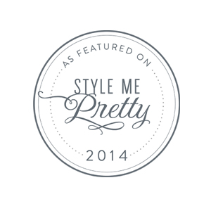 Style Me Pretty logo | ANGEE W. featured