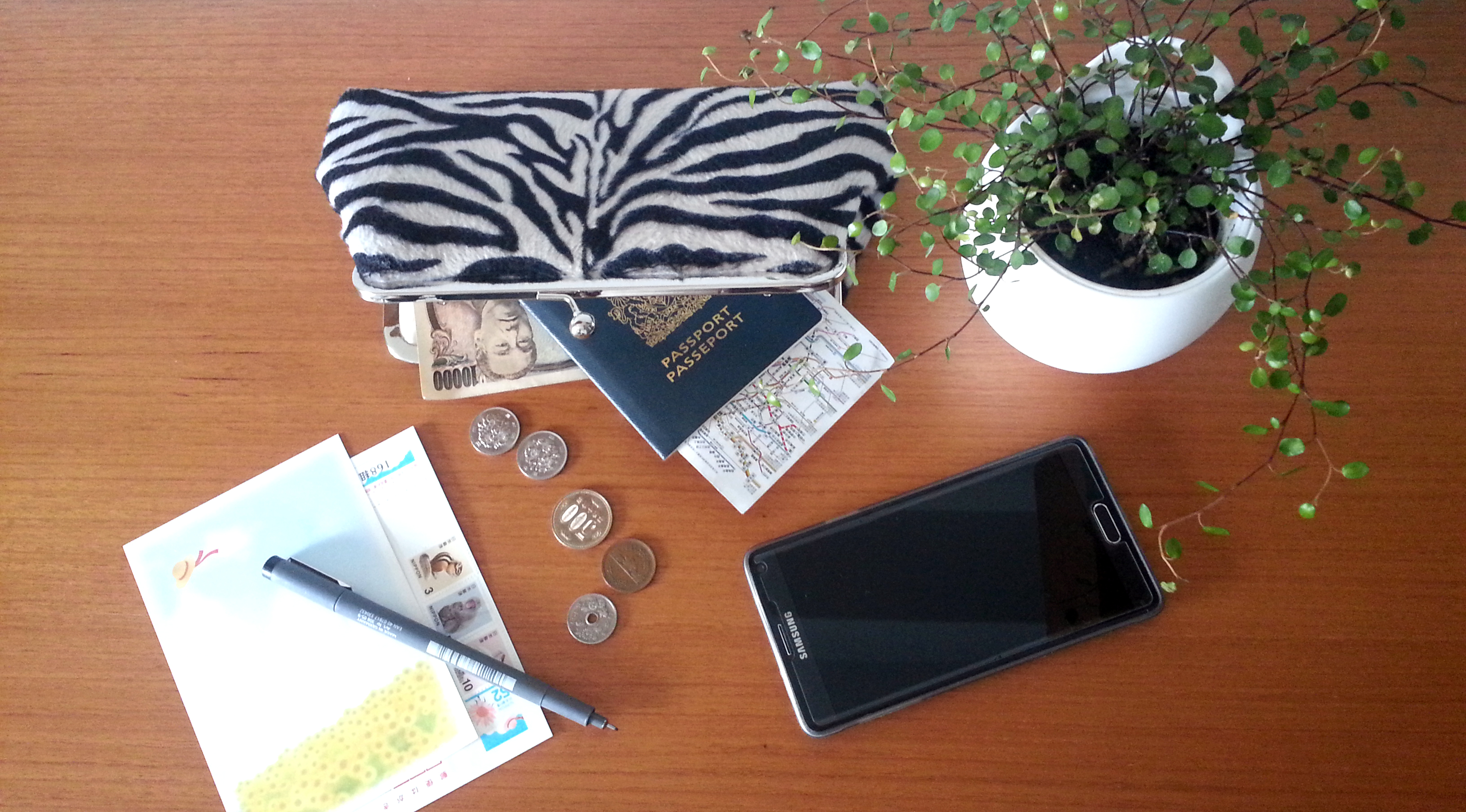 What's in our travel clutch? :)