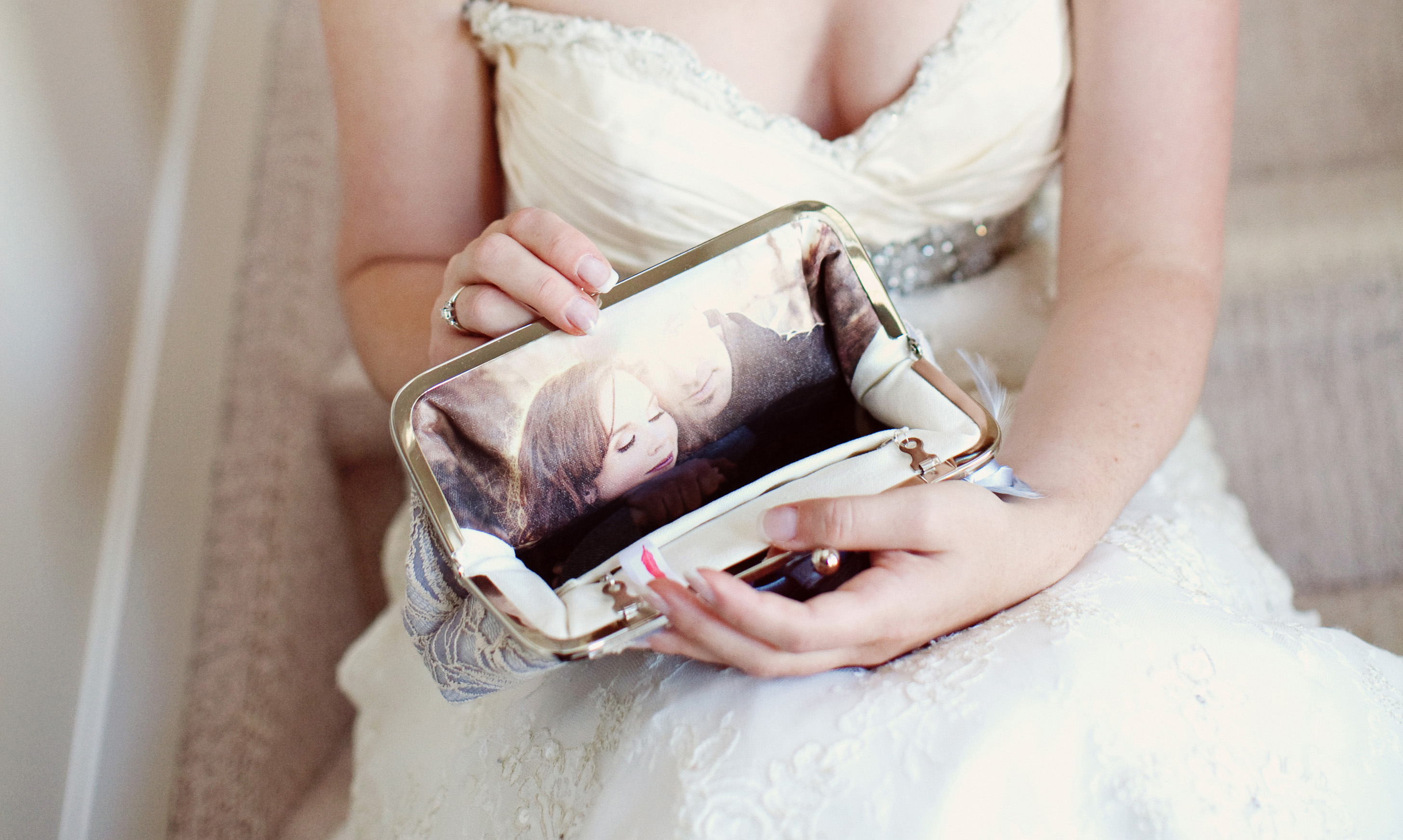 Personalized Photo Clutches